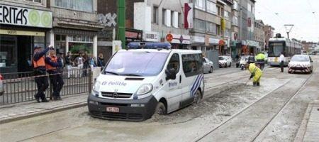 Snelle Belgische politie