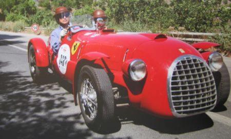 Ferrari 166 Spyder Corsa #002 - James Glickenhaus
