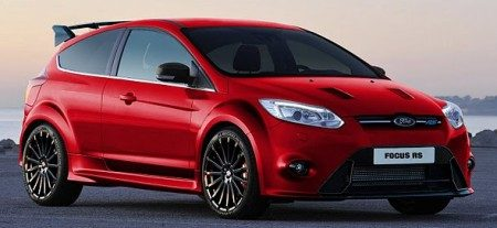 Ford Focus RS impressie - Rood