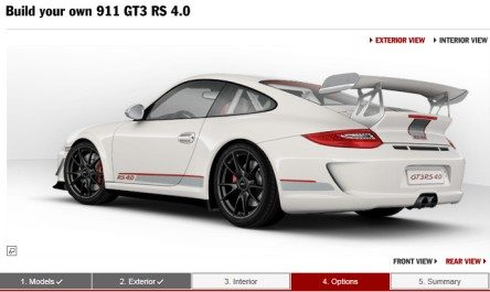 GT3RS Configurator