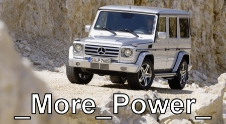 Merc G65 - Hit that V12!
