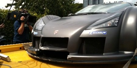 Gumpert crashpica's
