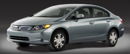 Honda Civic Hybrid sedan 2012