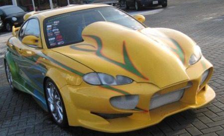 Hyundai Coupe tuning origineel