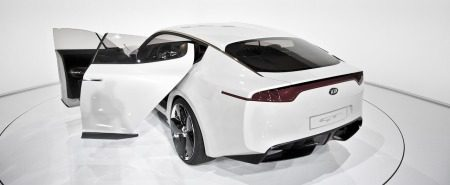 Kia GT Concept is wit