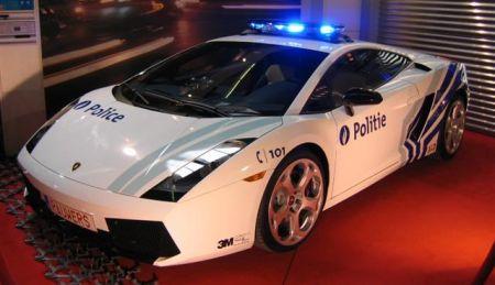Lamborghini Gallardo Belgische politie