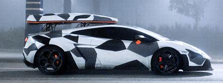 Lamborghini Gallardo Ski Transporter van Jon Olsson