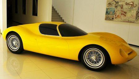 Giugiaro's Lamborghini die er nooit kwam