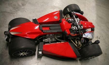 Lazareth Wazuma met Ferrari V8