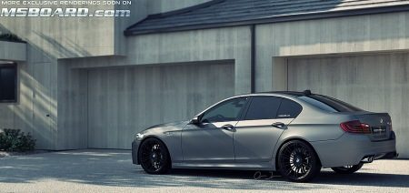 BMW M5 F10 Frozen Grey
