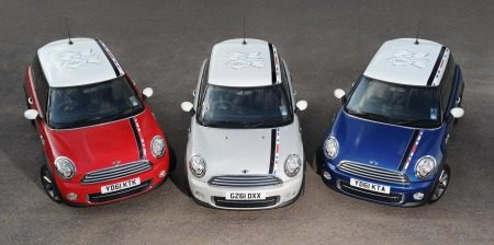 MINI London 2012 SE trio
