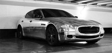 Maserati Quattroporte Chroom