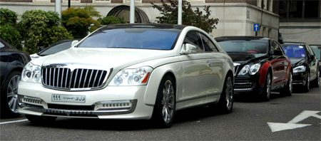Maybach Xenatech Cruisero Coupe gespot in Londen!