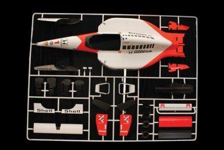 McLaren MP4/6 als levensgroot bouwpakket
