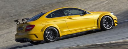 Mercedes C63 AMG Black Series Coupé Solarbeam Yellow