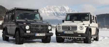 Mercedes G500 vs G300