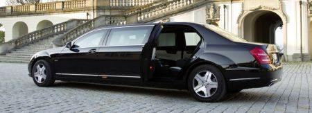 Zo rolt Kim Jong-il: Mercedes S600 Pullman Guard