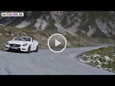 Mercedes SLK55 AMG - Trailer video