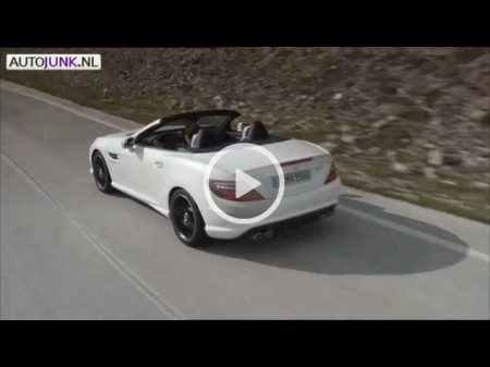 Mercedes SLK55 AMG Sound video