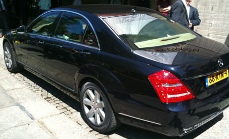 Mercedes S600 Guard - Mark Rutte