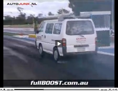 Mitsubishi L300 fullboost indeed