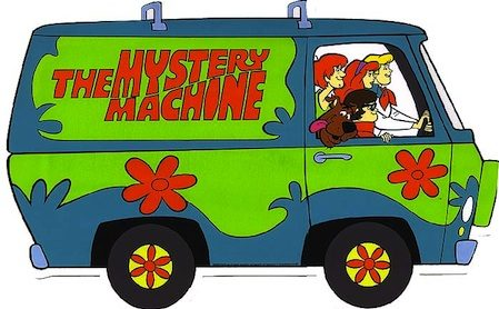 Mystery Machine - Scooby Doo