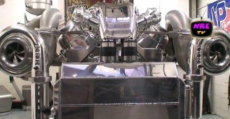 Nelson Racing V8 meesterwerk