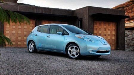 Nissan Leaf generator