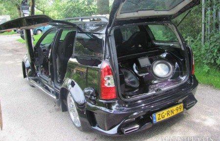 Verneukte Opel Astra met Audi neusje