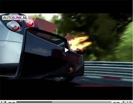 Pagani Huayra in Need For Speed Shift 2 Unleashed