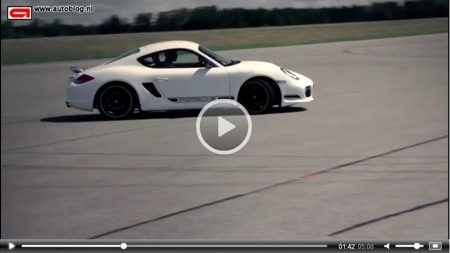 Porsche Cayman R video