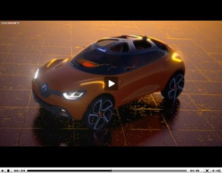 Renault Captur Concept video