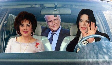 Roadtrip Michael Jackson, Liz Taylor en Marlon Brando