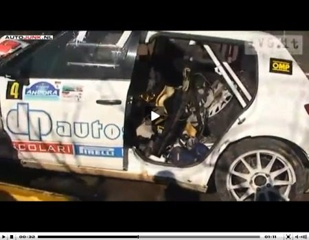 Robert Kubica crash video