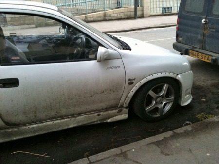 Roestige Vauxhall Corsa