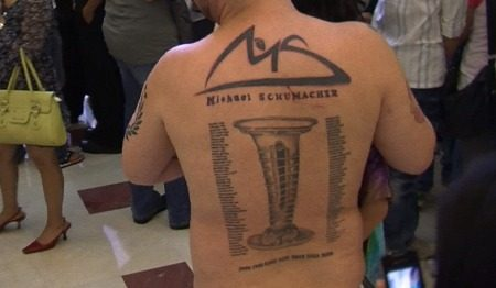 Schumi-tattoo