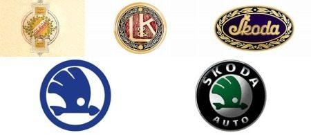 Skoda logo's