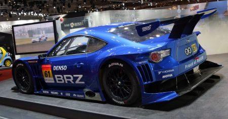 Subaru BRZ GT300 @ Tokyo 2011