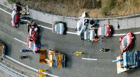 Super crash in Japan