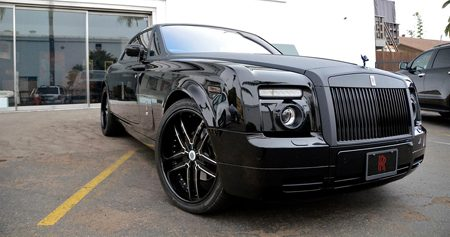 Symbolic Motors Rolls Royce Phantom Carbon wrap