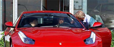 Tom Boonen is nieuwe testcrashdummy van Ferrari?