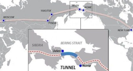 Tunnel tussen Rusland en de VS