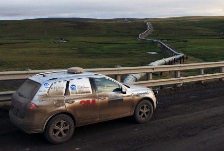 VW Touareg road trip