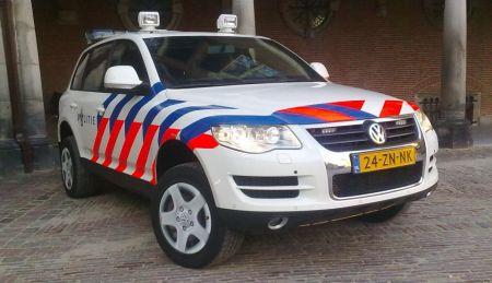 Volkswagen Touareg politie