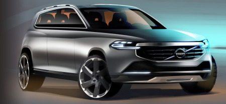 Volvo XC90 stijloefening