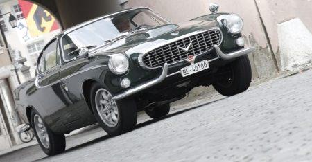 Aston Martin powered Volvo P1800
