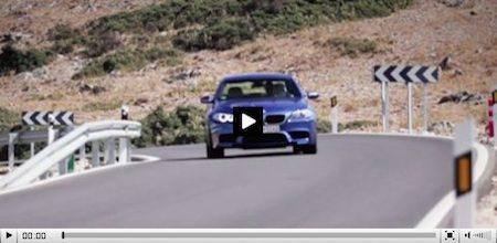 De M5, inclusief motorgeluid uit de subwoofer