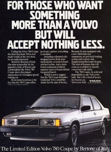 Expect Nothing Less - Volvo 780