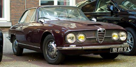 Alfa Romeo 2600 Sprint - Foto: Jim Appelmelk