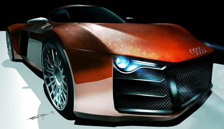 Audi R10 Marouane Bembli design study